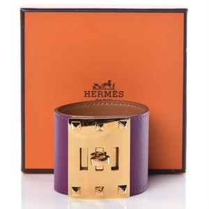 Hermes bracelet comes with box and dust bag